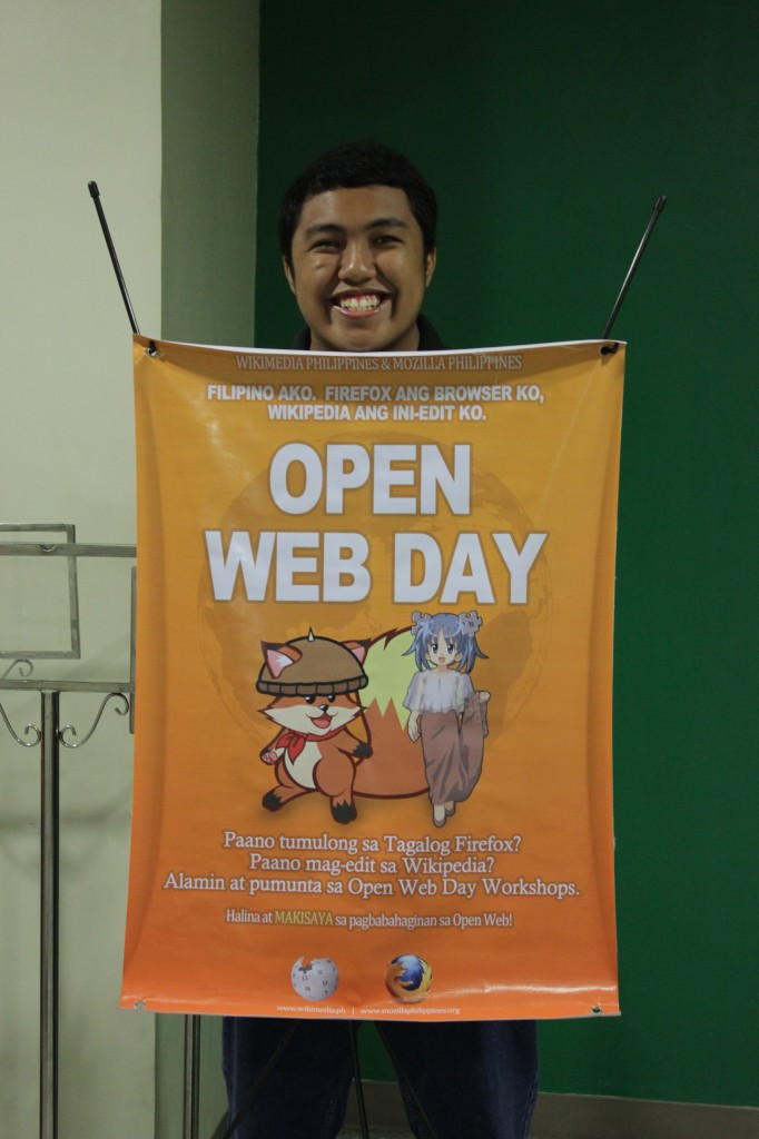 Open Web Day Poster